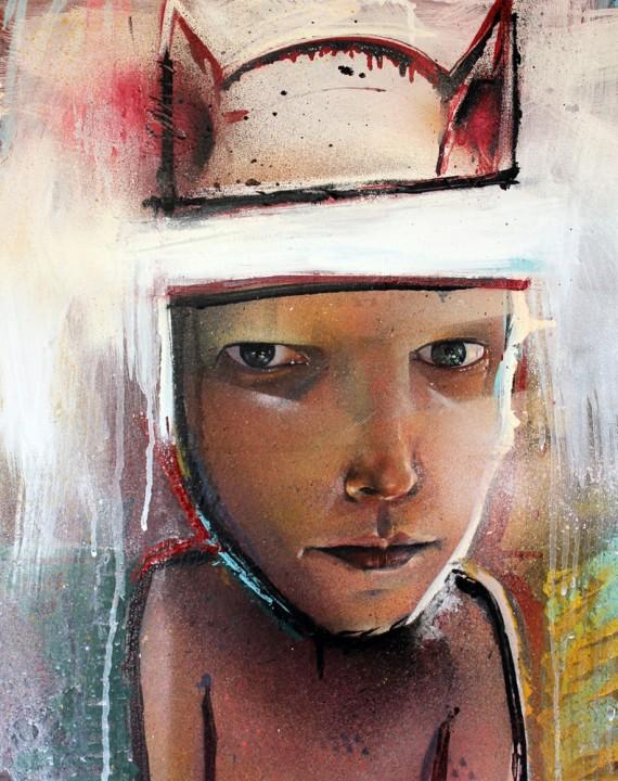 Self Portrait - julian kimmings, 2012